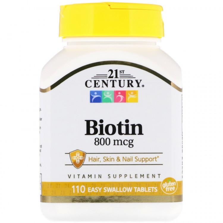 Биотин 800 мкг 110 таблеток