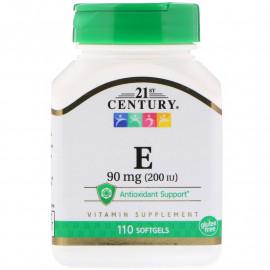 Витамин E 90 mg (200 IU) 110 Softgels
