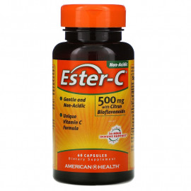 American Health Ester-C 500 мг 60 капсул