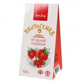 "Конфеты ""Пантогемка ПЛЮС"" - ""Ягодный пломбир"" 100 гр"