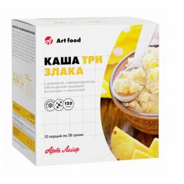 Артлайф Каша «Три злака с ананасом» 380 г