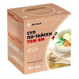 Суп по-тайски «Том Ям с лемонграссом» 10 шт