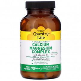 Комплекс кальция и магния c витамином D-3, 90 таблеток