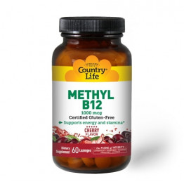 Methyl B12 Cherry Flavor 1000 mcg 60 lozenges / Витамин Б-12 в форме леденцов