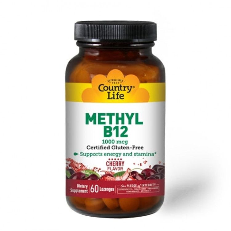 Methyl B12 Cherry Flavor 1000 mcg 60 lozenges / Витамин Б-12