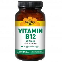 Vitamin B12 500 mcg 100 tabs / Витамин Б-12