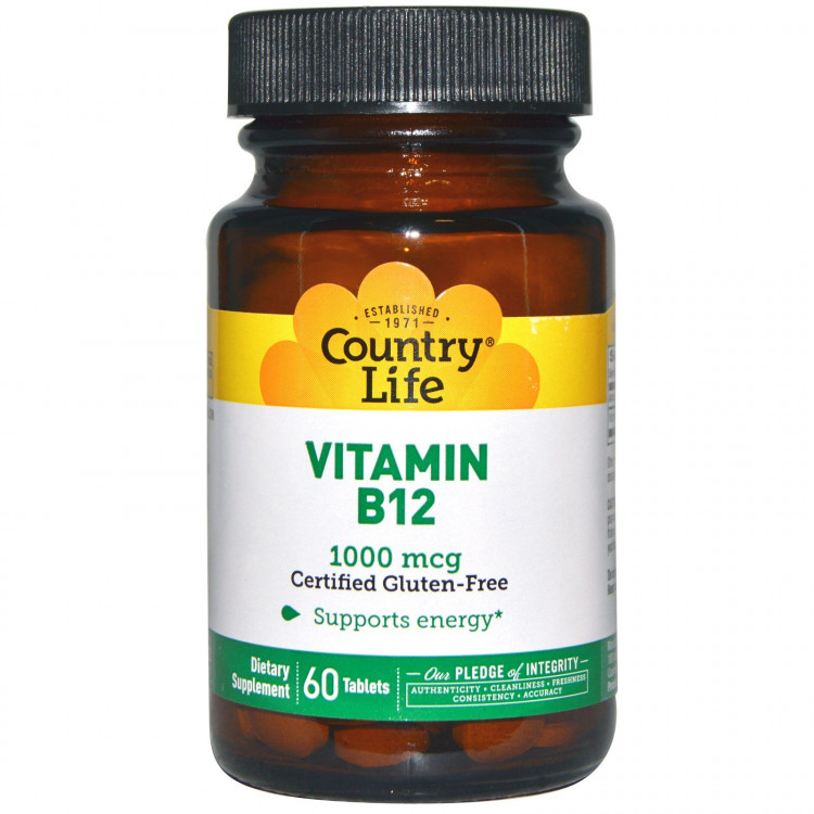 Vitamin B12 1000  mcg 100 tabs / Витамин Б-12