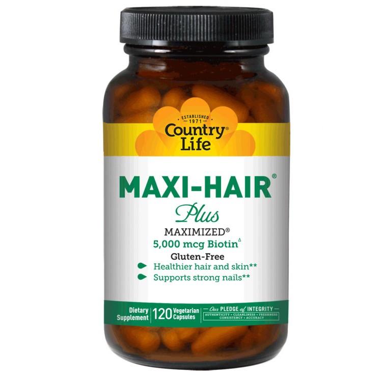 Maxi Hair Plus 120 vcaps / Витамины для волос