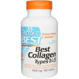 Best Collagen Types 1 & 3 1000 mg 180 tab / Коллаген