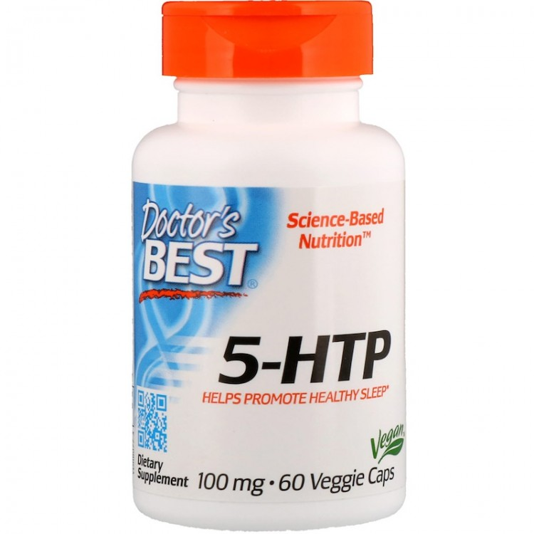 Doctor's Best 5-HTP 100 мг 60 капсул