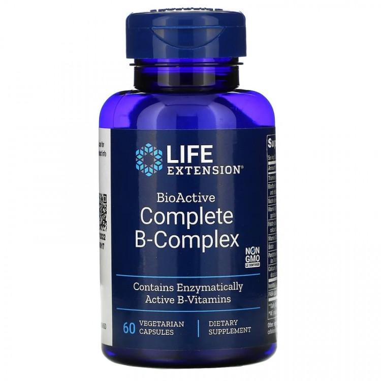 Life Extension Complete B-Complex / Комплекс витаминов группы Б 60 капсул