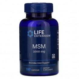 Life Extension MSM 1000 mg 100 капсул