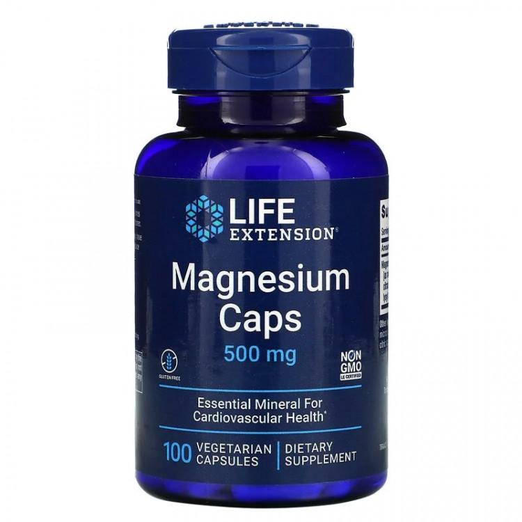 Life Extension Magnesium Caps / Магний 500 мг 100 капсул