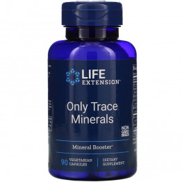 Life Extension Only Trace Minerals / Комплекс минералов 90 капсул