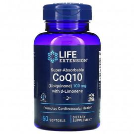 Super-Absorbable CoQ10 (Ubiquinone) with d-Limonene 60 softgels