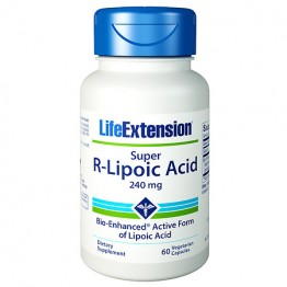 Super R-Lipoic Acid 240 mg 60 caps / R-Липоевая кислота