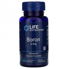 Life Extension Boron 3 mg / Бор 100 капсул