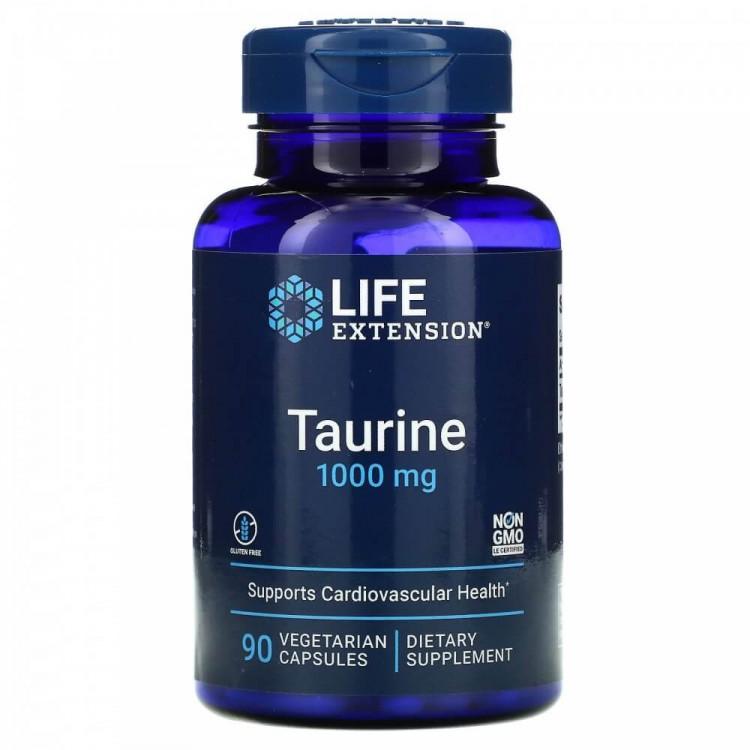 Life Extension Taurine / Таурин 1000 мг 90 капсул