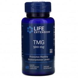 Life Extension TMG (триметилглицин) 500 мг 60 капсул с жидким содержимым