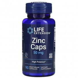 Life Extension Zinc Caps / Цинк в капсулах 50 мг 90 вегетарианских капсул
