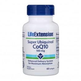 Super Ubiquinol CoQ10 100 mg 60 softgels / Убихинол CoQ10