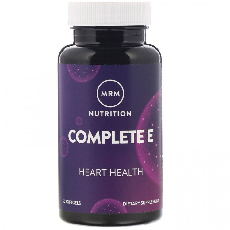 MRM Complete E / Комплекс с витамином E, 60 мягких таблеток