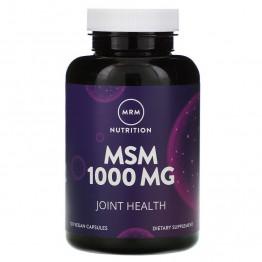 MRM Nutrition MSM 1000 mg 120 Capsules / Метилсульфонилметан