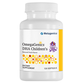 OmegaGenics DHA Children's 120 softgels