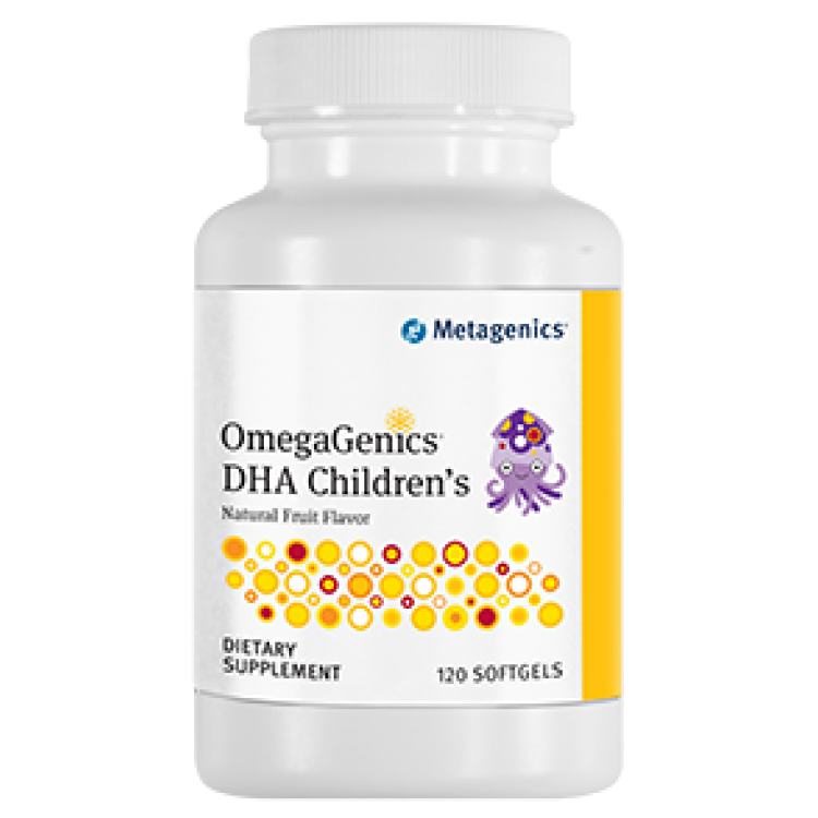 OmegaGenics DHA Children's 120 softgels / Рыбий жир детский