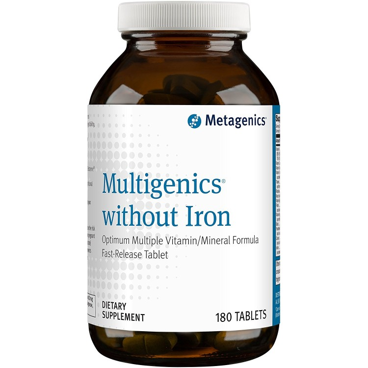 Multigenics without Iron 180 tab / Мультидженикс без железа