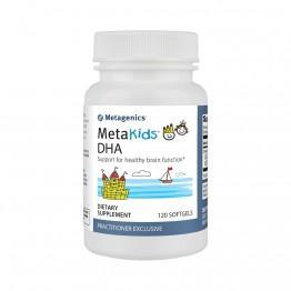 MetaKids (аналог OmegaGenics) DHA 120 softgels / Рыбий жир детский
