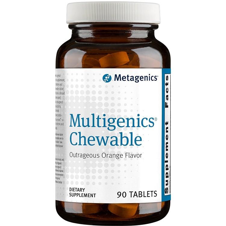 Multigenics Chewable Orange Flavor 90 tab / Мультидженикс
