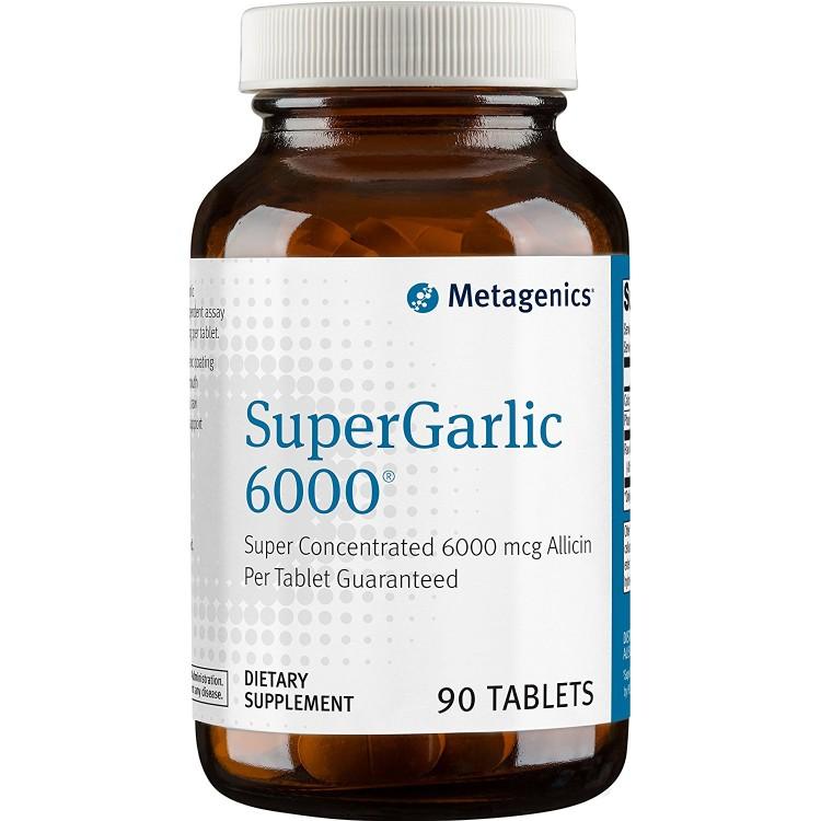 Super Garlic 6000 90 tab / Концентрат чеснока