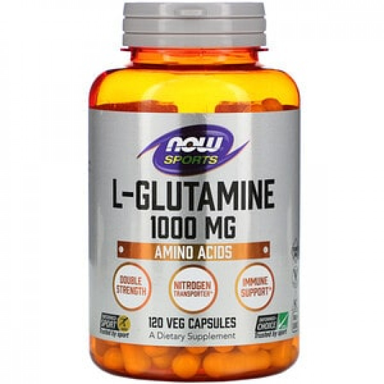 L-Glutamine 1000 mg 120 caps / Л-Глютамин