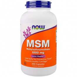 MSM 1000 mg 240 caps / МСМ - Метилсульфонилметан