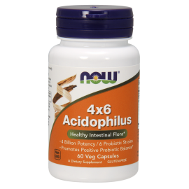 Acidophilus 4x6 60 caps / Ацидофилус