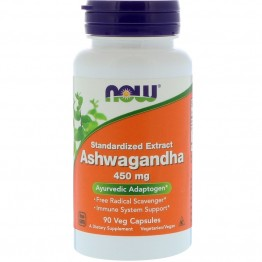 Ashwagandha 450 mg 90 caps / Ашваганда 450 мг 90 капсул