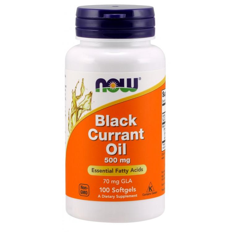 Black Currant Oil 500 mg 100 softgels / Масло Черной Смородины