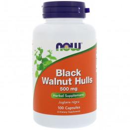 Black Walnut Hulls 500 mg 100 caps / Экстракт черного ореха