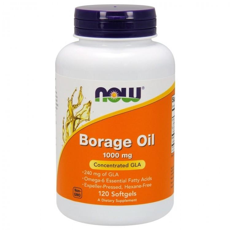 Borage Oil 1000 mg 120 softgels / Масло Бурачника