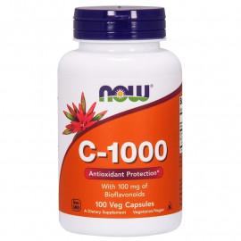 Vitamin C-1000 With 100 mg of Bioflavonoids 100 veg caps / Витамин С