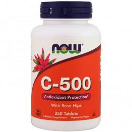 Vitamin C-500 с шиповником 250 таблеток