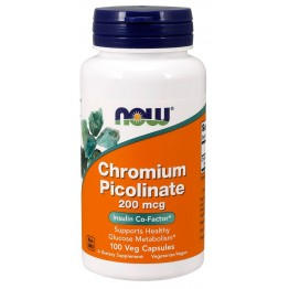 Chromium Picolinate 200 mcg 100 caps / Хром Пиколинат