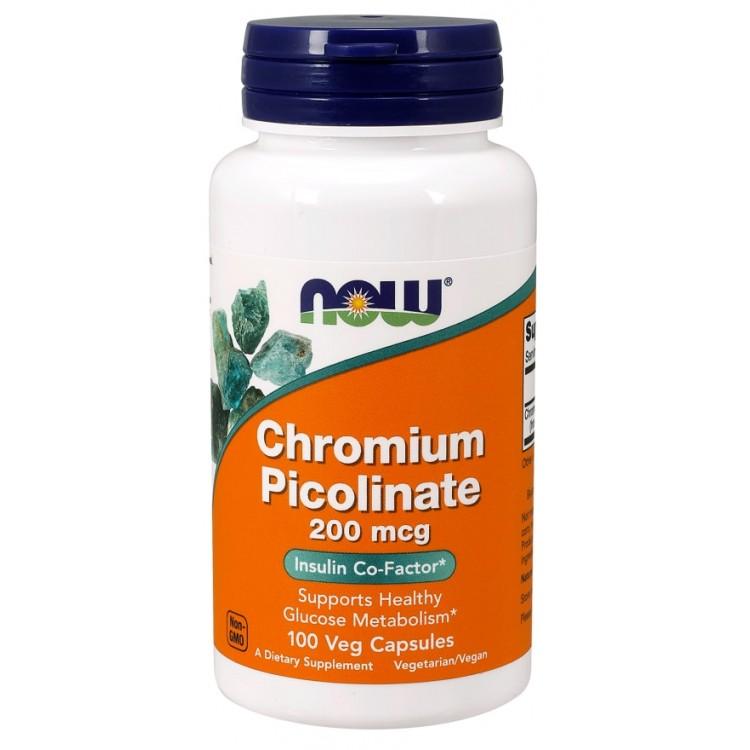 Chromium Picolinate 200 mcg 100 caps / Хром Пиколинат
