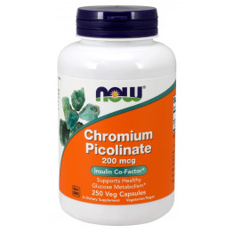 Chromium Picolinate 200 mcg 250 caps / Хром Пиколинат