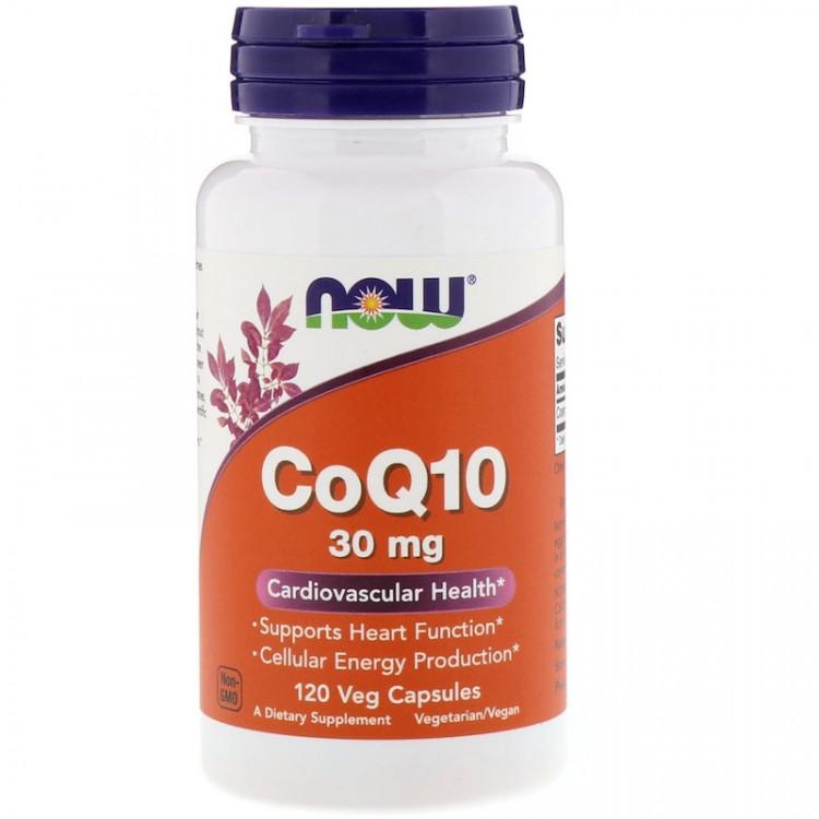 CoQ10 30 mg 120 vcaps / Коэнзим Q10