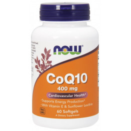 CoQ10 400 mg 60 softgels / Коэнзим Q10