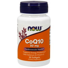 CoQ10 50 mg 50 softgels / Коэнзим Q10