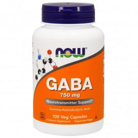 GABA 750 mg 100 caps  / ГАМК - Гамма-аминобутириновая кислота