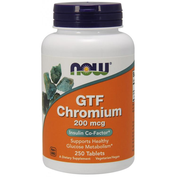 GTF Chromium 200 mcg 250 tab / Хром